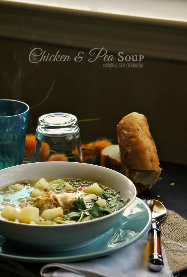 Peas and Chicken Soup Recipe