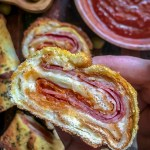 Pizza Roll Recipe with Toast.