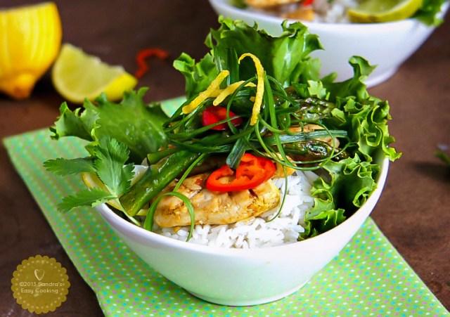 Thai Chicken and Asparagus