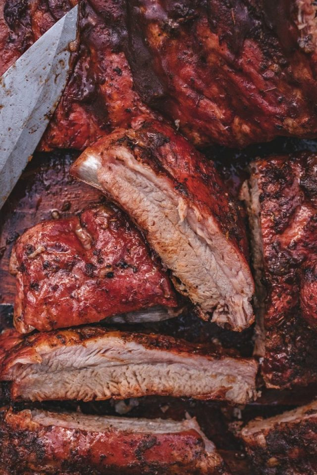 Smoked St. Louis Style Ribs