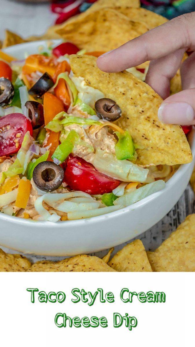 Taco Style Cream Cheese Dip Recipe