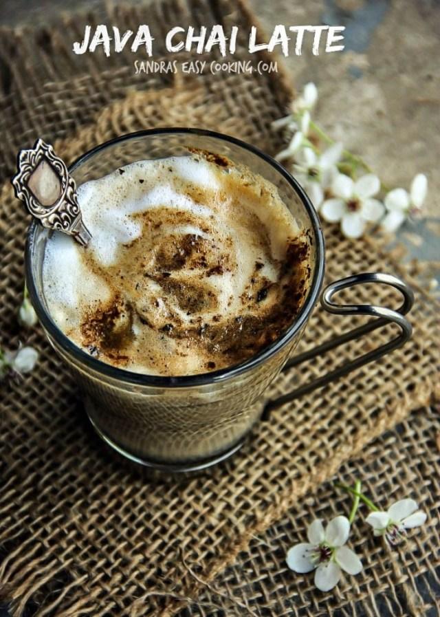 Java Chai Latte Recipe
