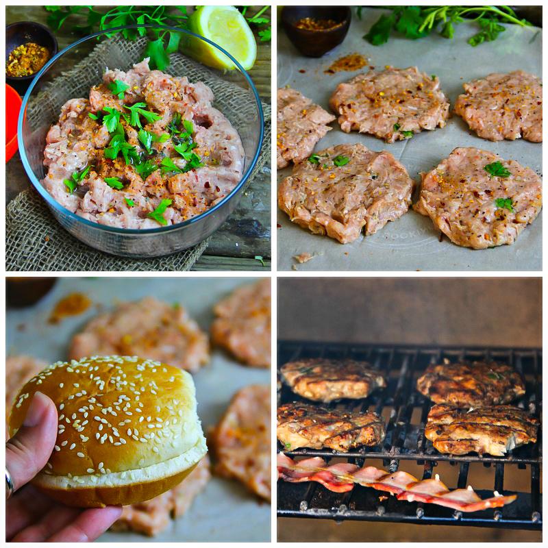 Chicken Burger Step by step