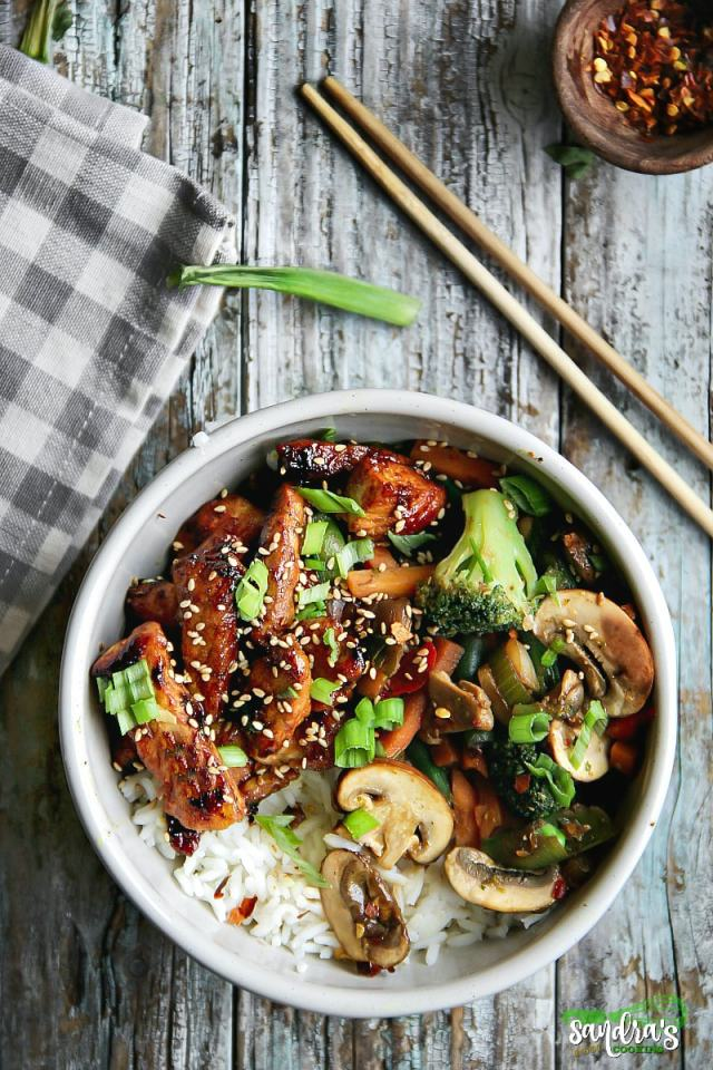 Chicken and Mixed Vegetables Stir-Fry Recipe