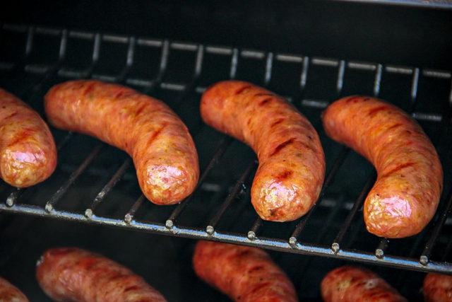 Bratwurst and Sauerkraut Hoagie