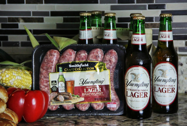 Craft Collection Yuengling Traditional Bratwurst and Sauerkraut Hoagie