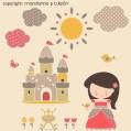 princesas y castillo