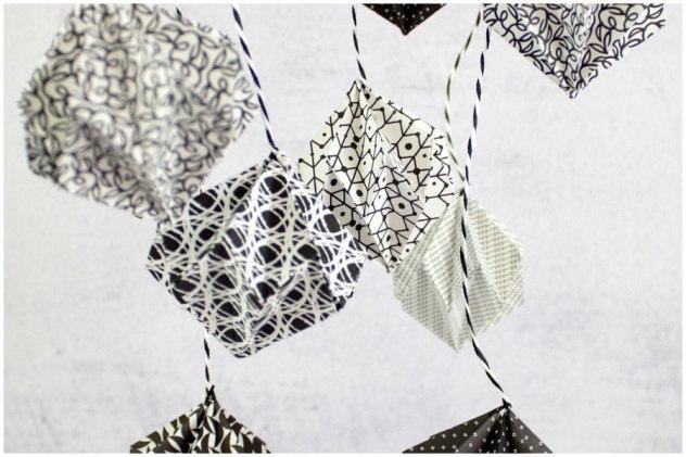 origami diamanten diy mobile sandra wirtz. Black Bedroom Furniture Sets. Home Design Ideas