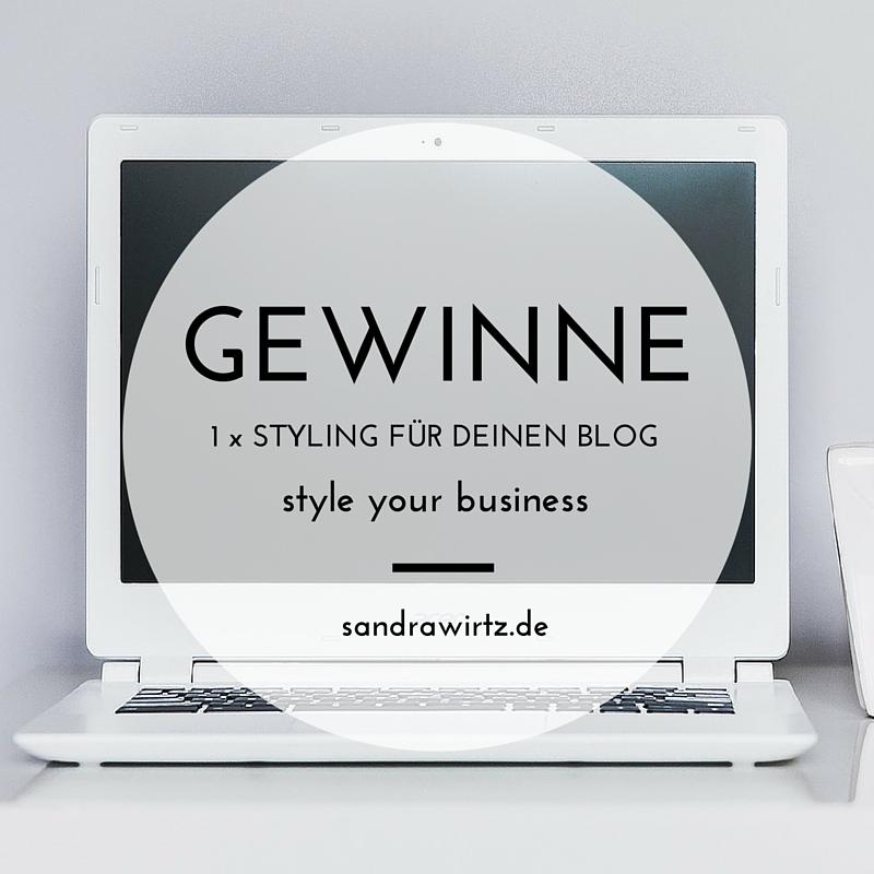 Gewinne 1 x Styling für deinen Blog