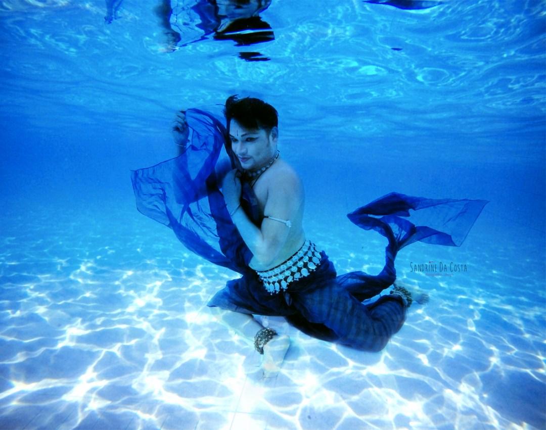 Saswat Joshi Underwater by Sandrine DA COSTA
