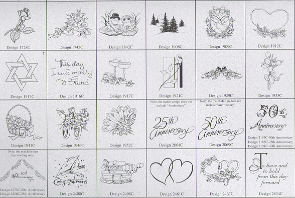 Sand Scripts' Designs