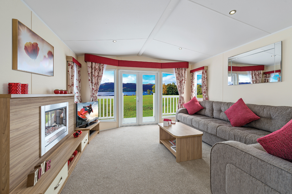 fold out bed sofa comfortable futons or beds 2015 willerby sierra - 2 bedroom holiday home   sands of luce