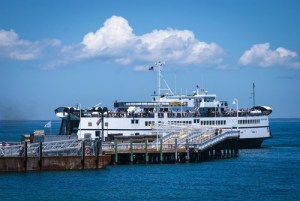 ferry to Martha's Vineyard from Woods Hole, MA