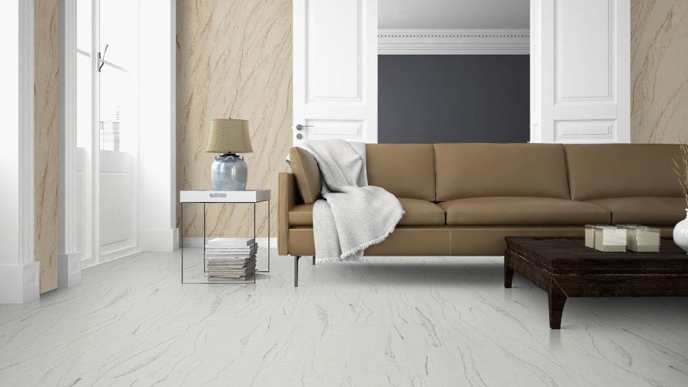 Yellow Peak flexible sandstone living room