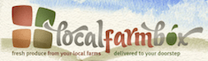 Local Farm Box logo slogan
