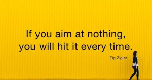 Quote small business goals Zig Ziglar