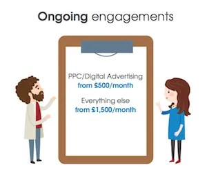 rates for ongoing engagement attract