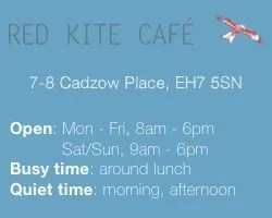Edinburgh's Best Work-Friendly Cafés for Small Businesses: Red Kite Cafe
