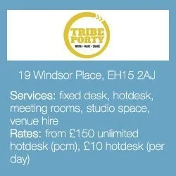 Edinburgh's Best Co-Working Offices for Small Businesses: Tribe Party
