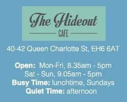 The Best Cafés to Work from in Edinburgh: the hideout cafe leith