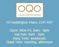 oqo coffee nook work remotely edinburgh