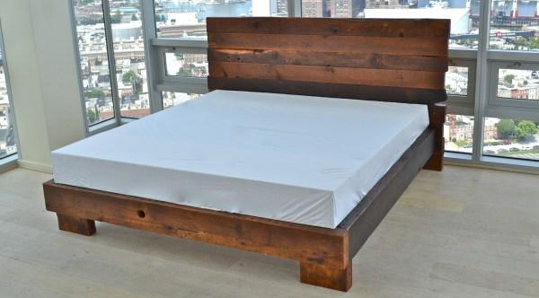 Reclaimed Handmade Beds & Bedframes Sandtown Millworks