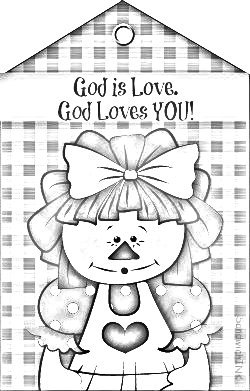 God Is Love Coloring Sheet Sketch Coloring Page