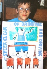 drinking & driving poster