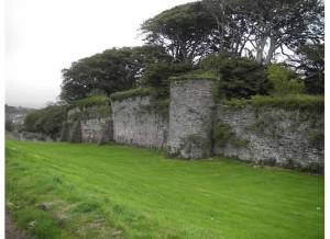 town wall youghal