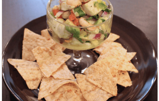 Cod and Shrimp Ceviche