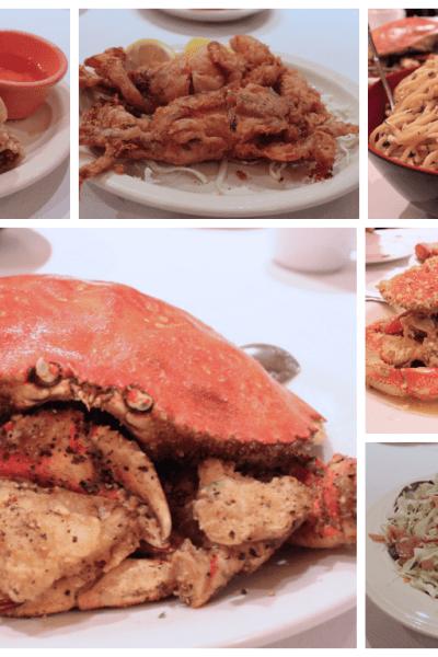 PPQ Dungeness Island: Crabby Garlic Noodles