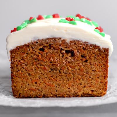 Christmas Carrot Cake