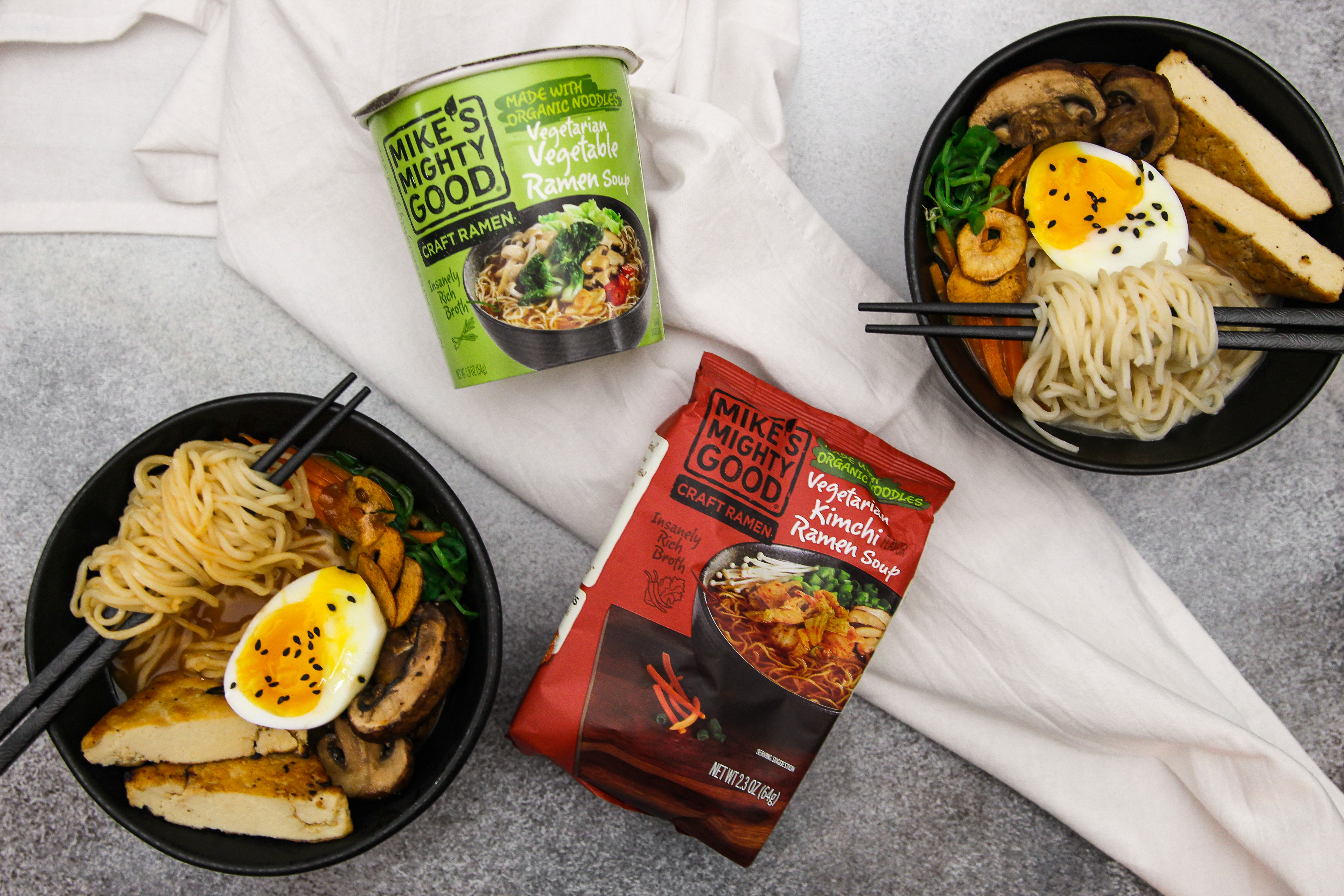 Mike's Mighty Good Craft Ramen
