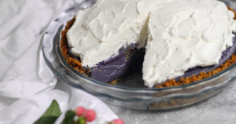 Ube Cream Pie