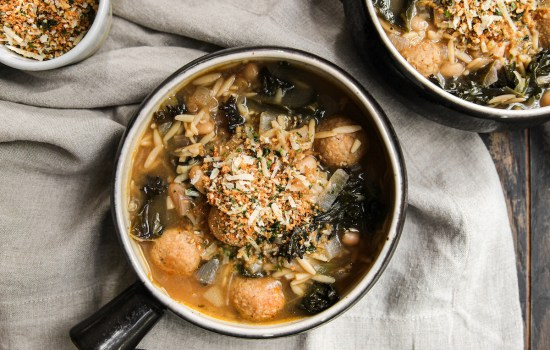 Vegetable Wedding Soup