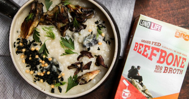Bone Broth Rice Porridge