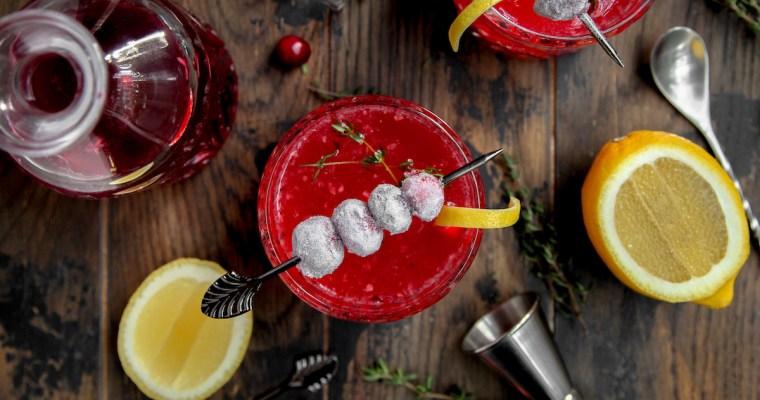 Cranberry Gimlet Cocktail