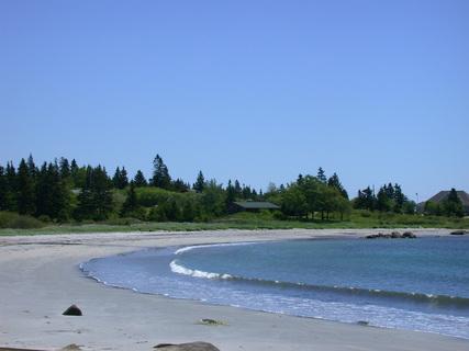 hunts point beach, liverpool, Nova Scotia, Canada
