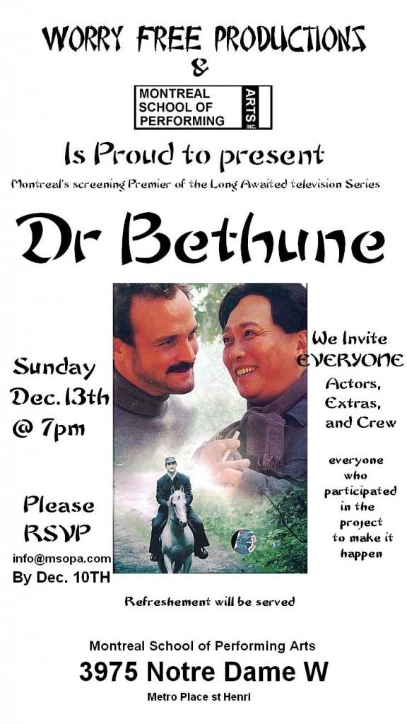 Dr. Bethune
