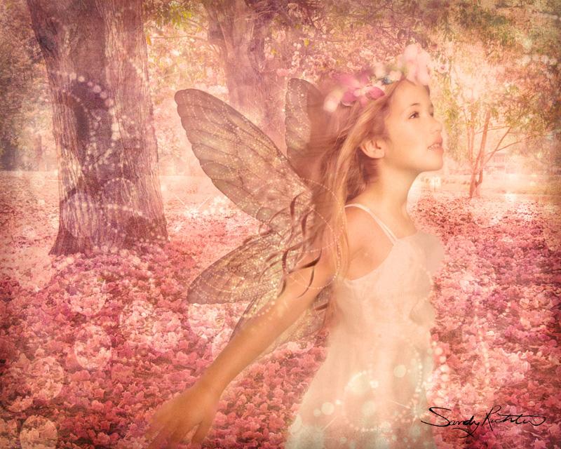 Spring Fairy Fantasy Portrait