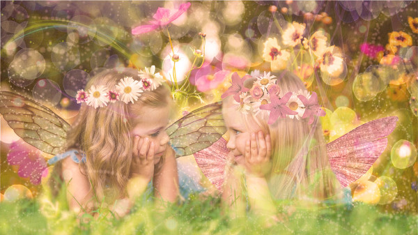 Fairy Friends Fantasy Portrait