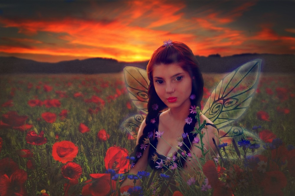 Girl Fairy Fantasy Portrait