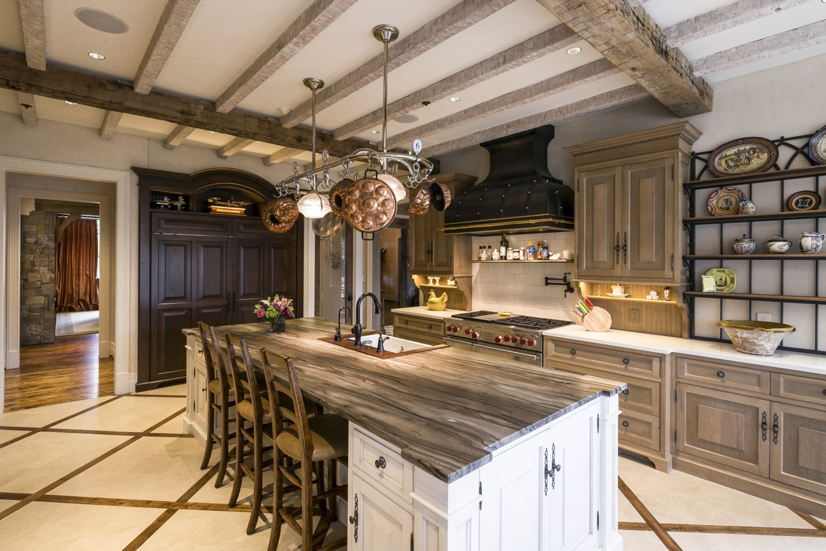 Friday Fabulous Home Feature Two Toned Kitchens Sandy