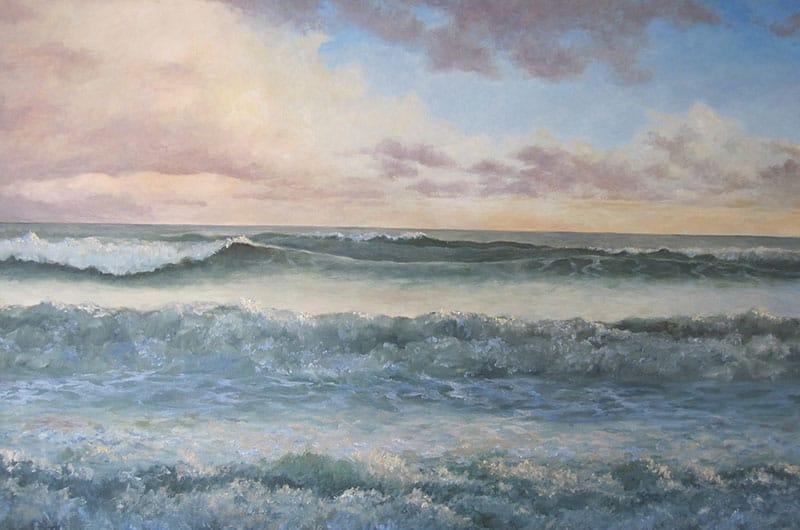 Sunset Seascape Image