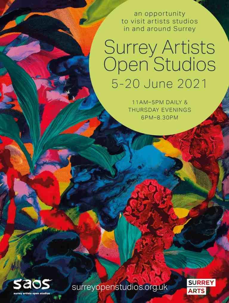 Surrey Artists Open Studio advertisement