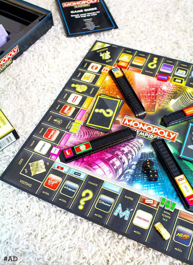 Tween Board Game Fun With Monopoly Empire Popsicle Blog