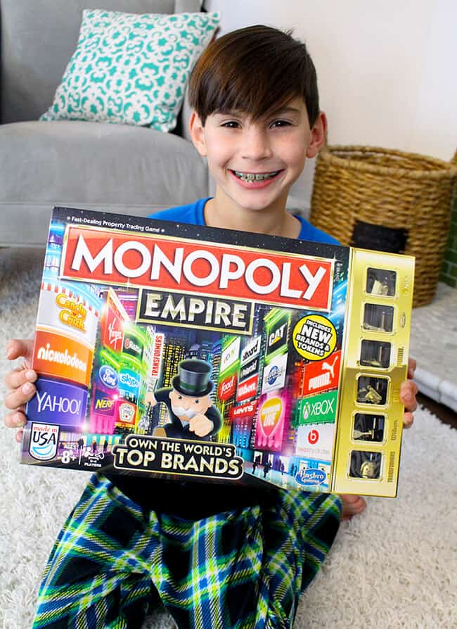 Tween Board Game Fun With Monopoly Empire Ad Popsicle Blog
