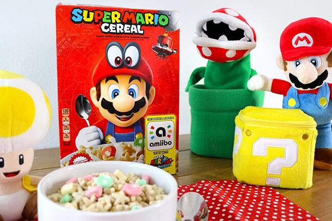 easy super mario cereal