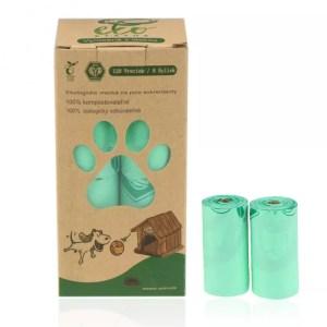 Psie kompostovateľné vrecká – 120 ks