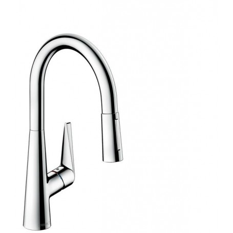 Hansgrohe Talis S 72813000 kitchen mixer, 200, with pull